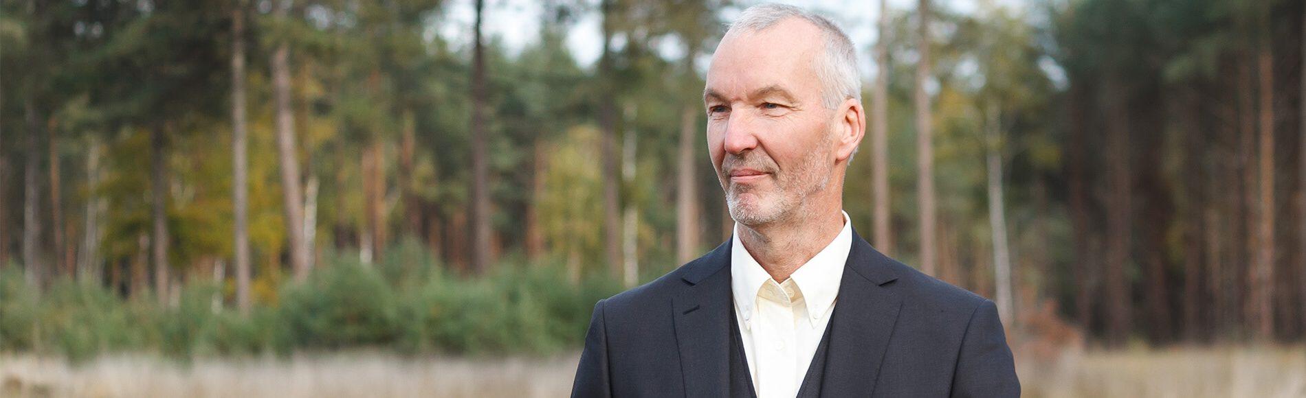 Bert Jansen Venneboer is de drijvende kracht achter Natuurlijk Afscheid