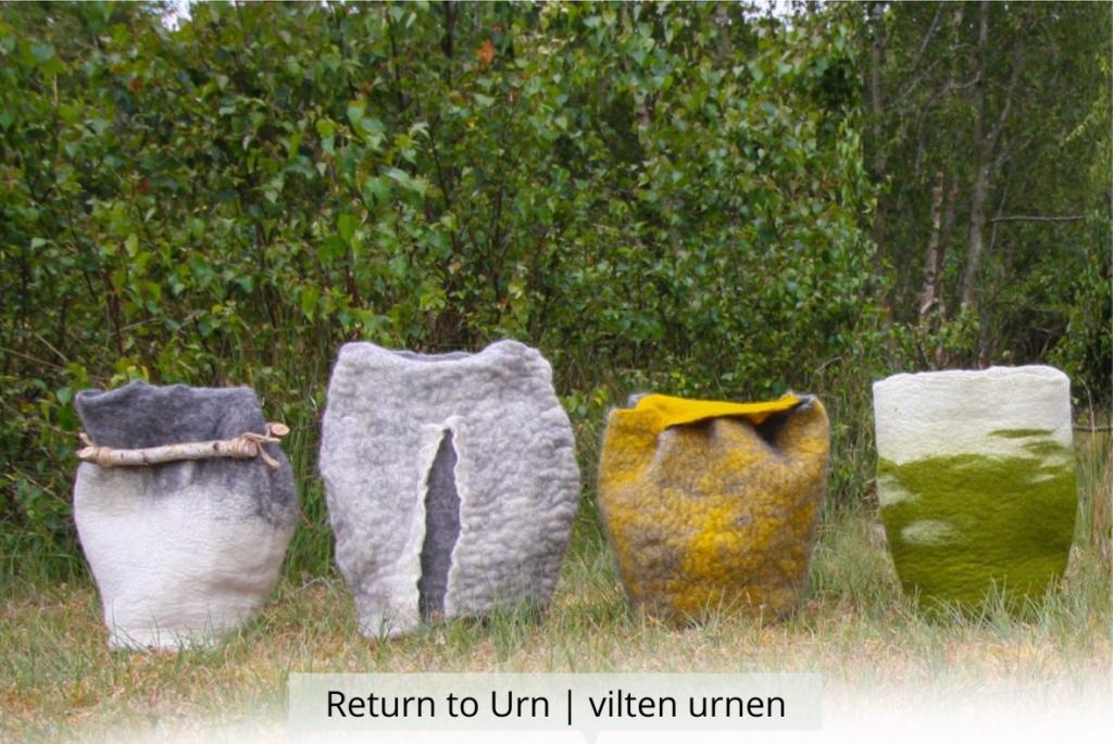 Natuurlijk Afscheid uitvaartbegeleider natuurbegraven Return to Urn