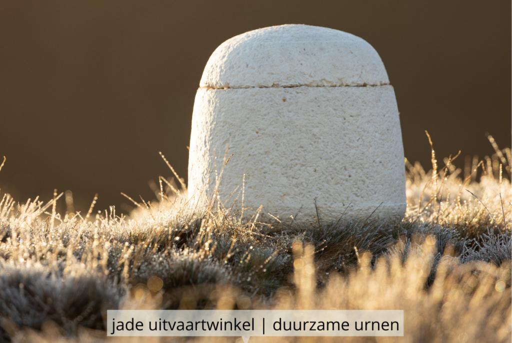 Natuurlijk Afscheid uitvaartbegeleider natuurbegraven mycelium urn